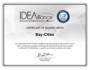G7 Certificate