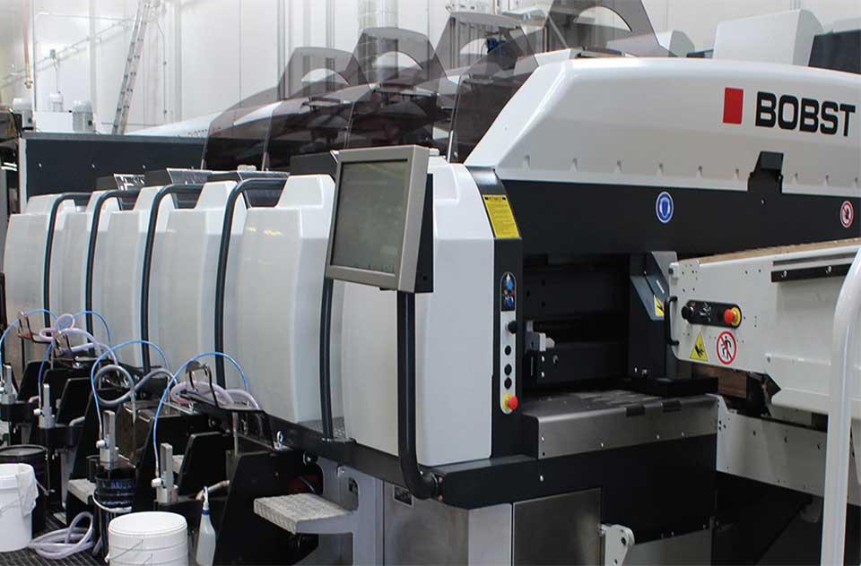 Bobst Printer