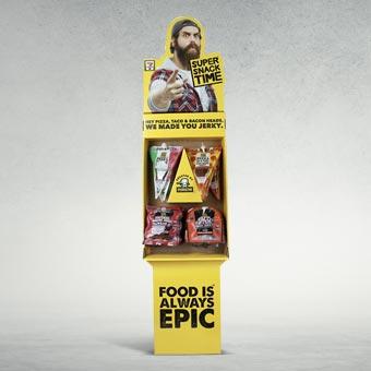 Floor Display for Food