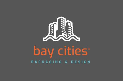 Bay Cities Packaging and Design Color Logo