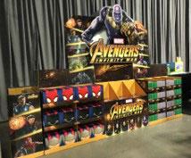 Avengers Train Retail Display