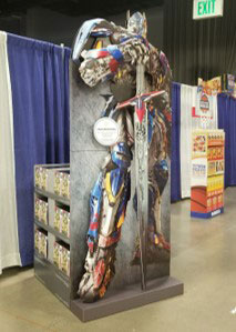 Transformers Train Retail Display