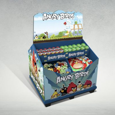 Dump Bins for Angry Birds Toys