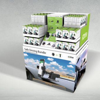 Electronics Pallet Display