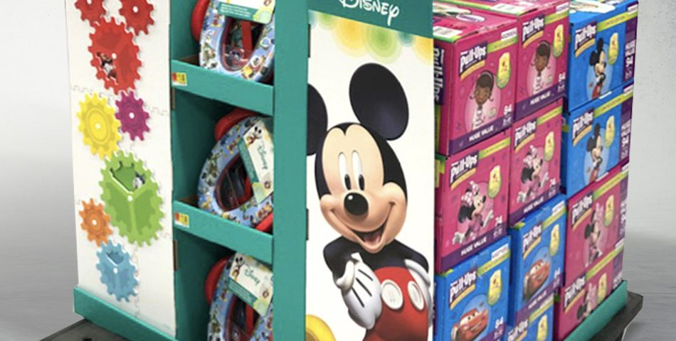 Mickey Mouse Full Pallet Display