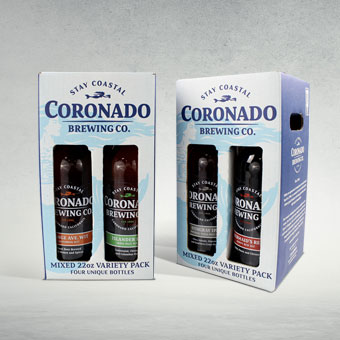 Adult Beverage Gift Set Box for Coronado Brewing Co.