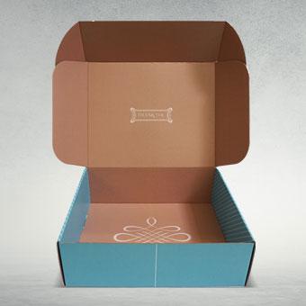 Custom Electronics Cardboard Box