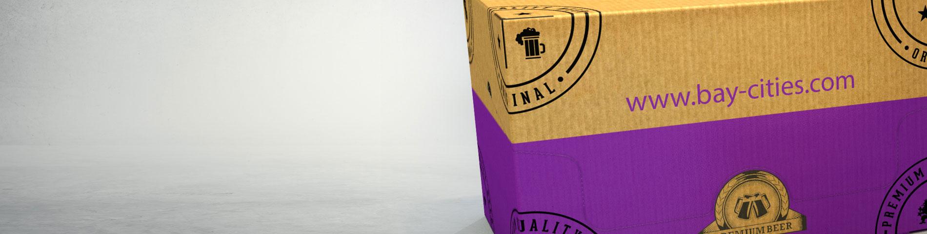 Retail Ready Adult Beverage Cardboard Box