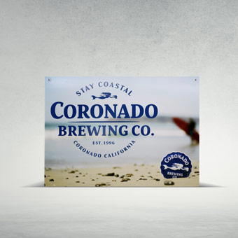 Adult Beverage Signage for Coronado Brewing Co.