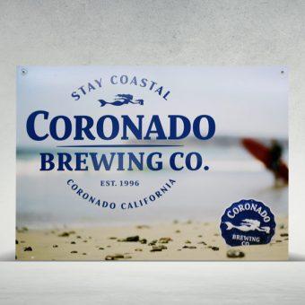 Coronado Brewing Company Signage