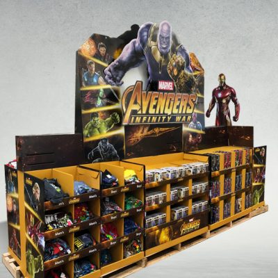 Avengers Train Display