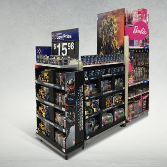 Walmart Trendpods for Toys Display
