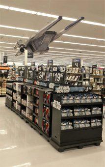 Star Wars Wing Retail Display