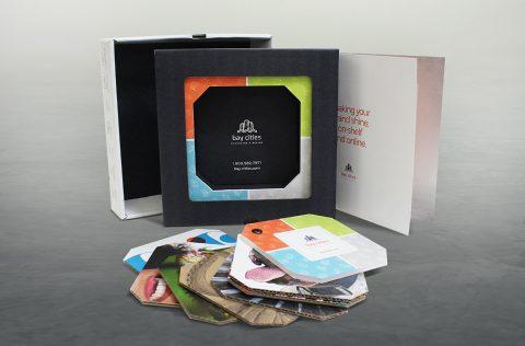 Swatch kit branding digital printing