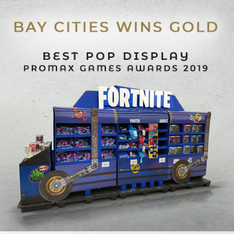 Promax Games Fornite Battle Bus Best POP Display