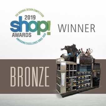 OMA Awards, shopper marketing, retail displays, POP displays, black panther
