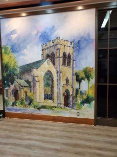 High-Res Mural for All Saints Episcopal Church