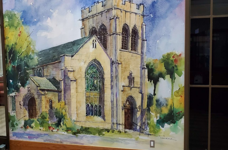 High-Res Mural for All Saints Episcopal Church