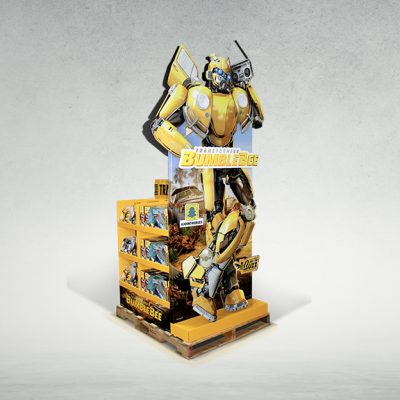 Bumble Bee Floor Display