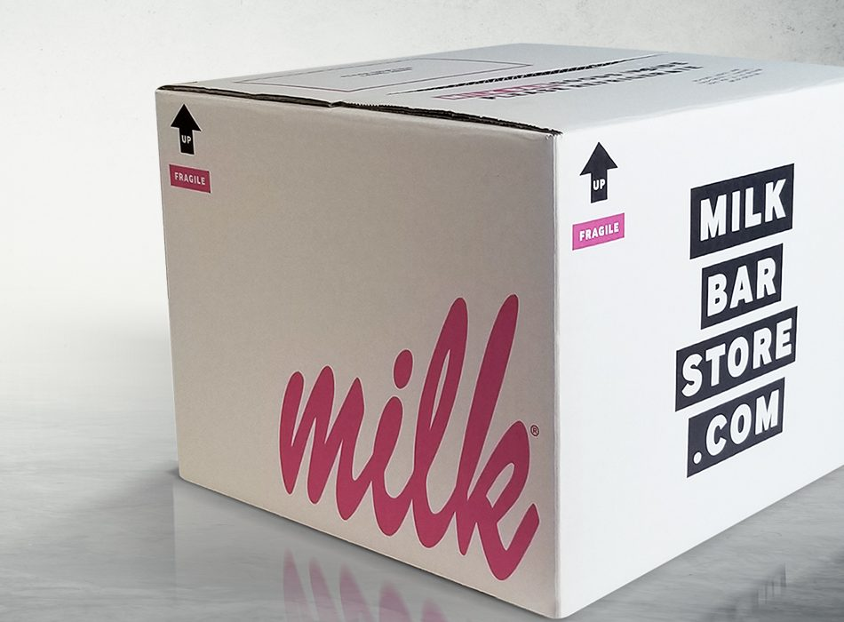 Milk Bar Box Industrial