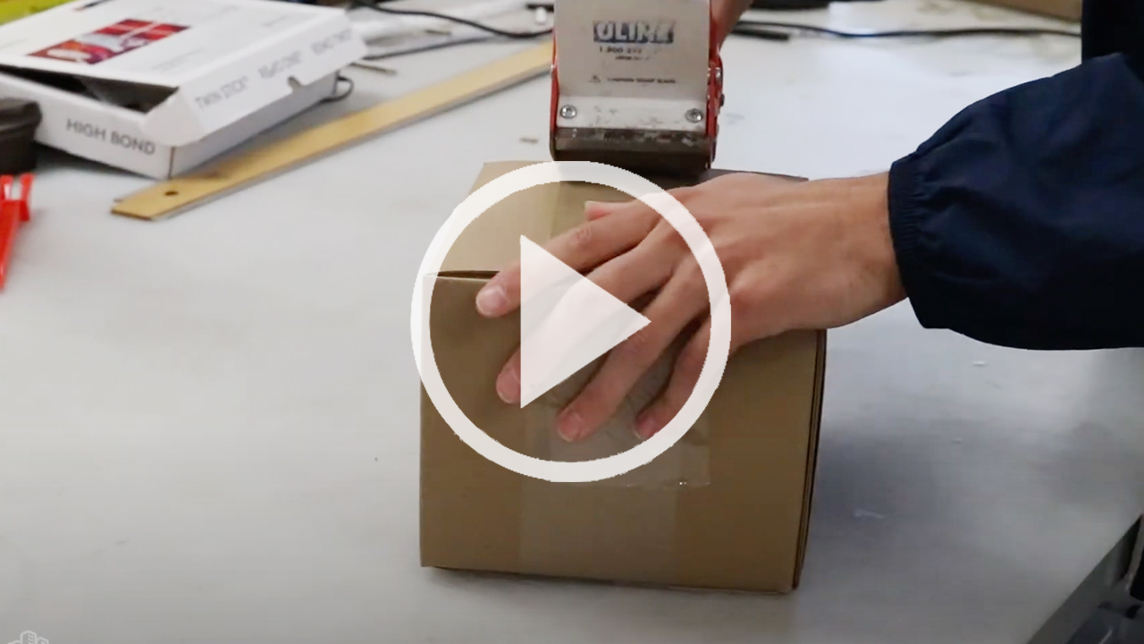 The Creation of a Brown Shipping Box