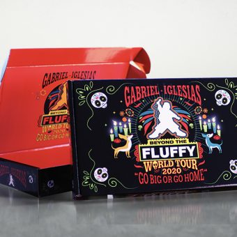 Fluffy World Tour Custom Product Box