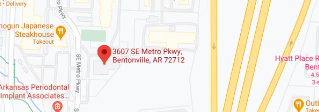3607 SE Metro Pkwy Bentonville, AR 72712